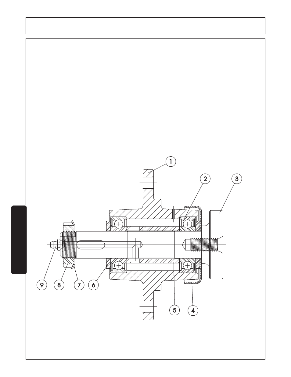 Blade Spindle Service Instructions