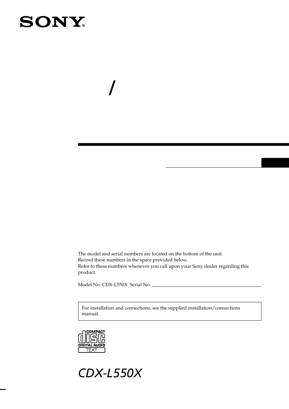 sony cdx l550x en user manual 24 pages also for cdx l550x cdx rh manualsdir com sony cdx-l550x wiring diagram sony cdx-l550v service manual