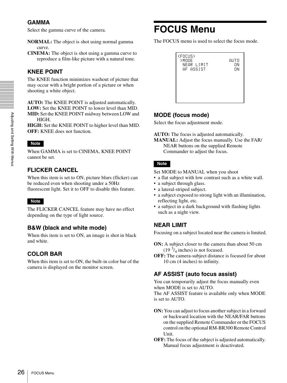 Sony brc-z330 manuals.