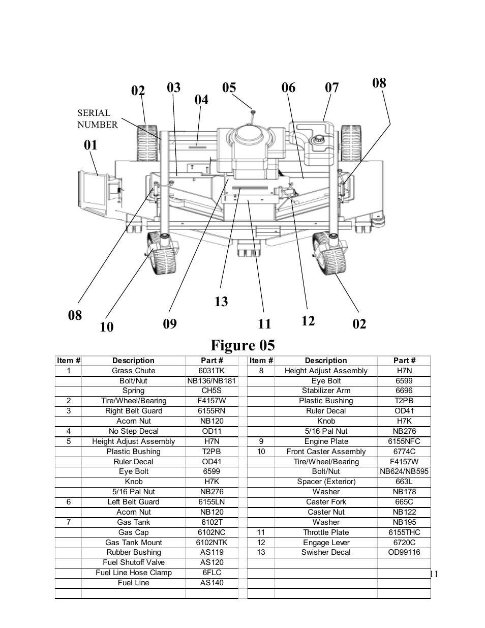 wiring diagram for swisher t1260