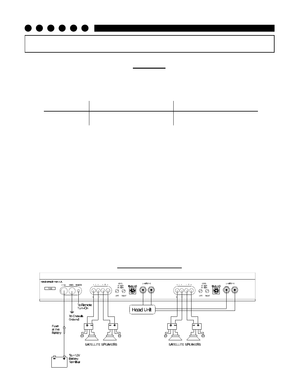 Installation Step 3 Wiring Diagram Soundstream 40 Amp Breaker Technologies Picasso Stereo Amplifier User Manual Page 10 20