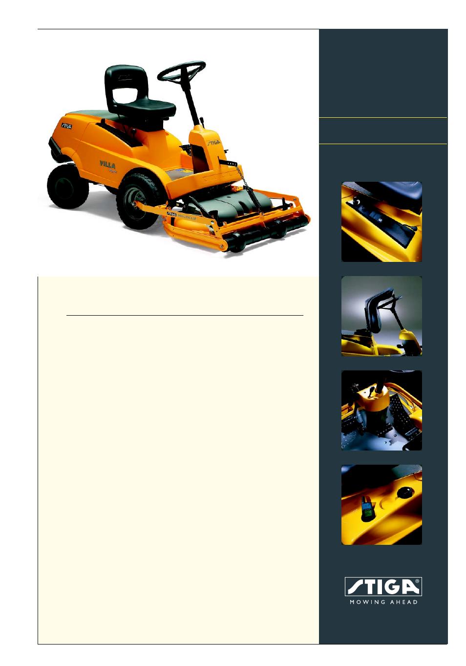 stiga villa master 13 2721 13 user manual 2 pages rh manualsdir com stiga villa manual .pdf stiga villa manual 8e