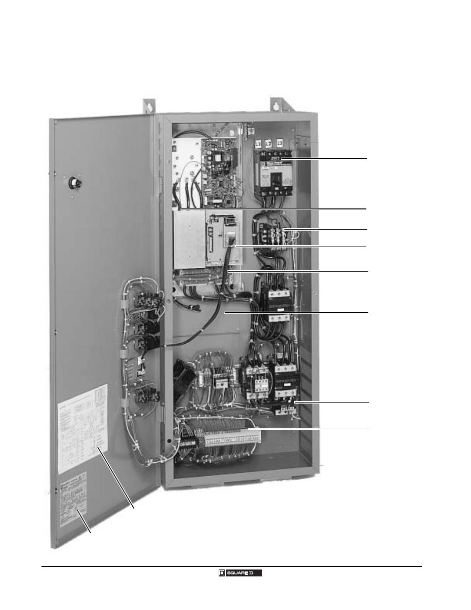 Component Locations Continued Class 8839 Econoflex Ac Drives Schneider Electric Transformer Wiring Diagram Altivar 58 Trx User Manual Page 193 232