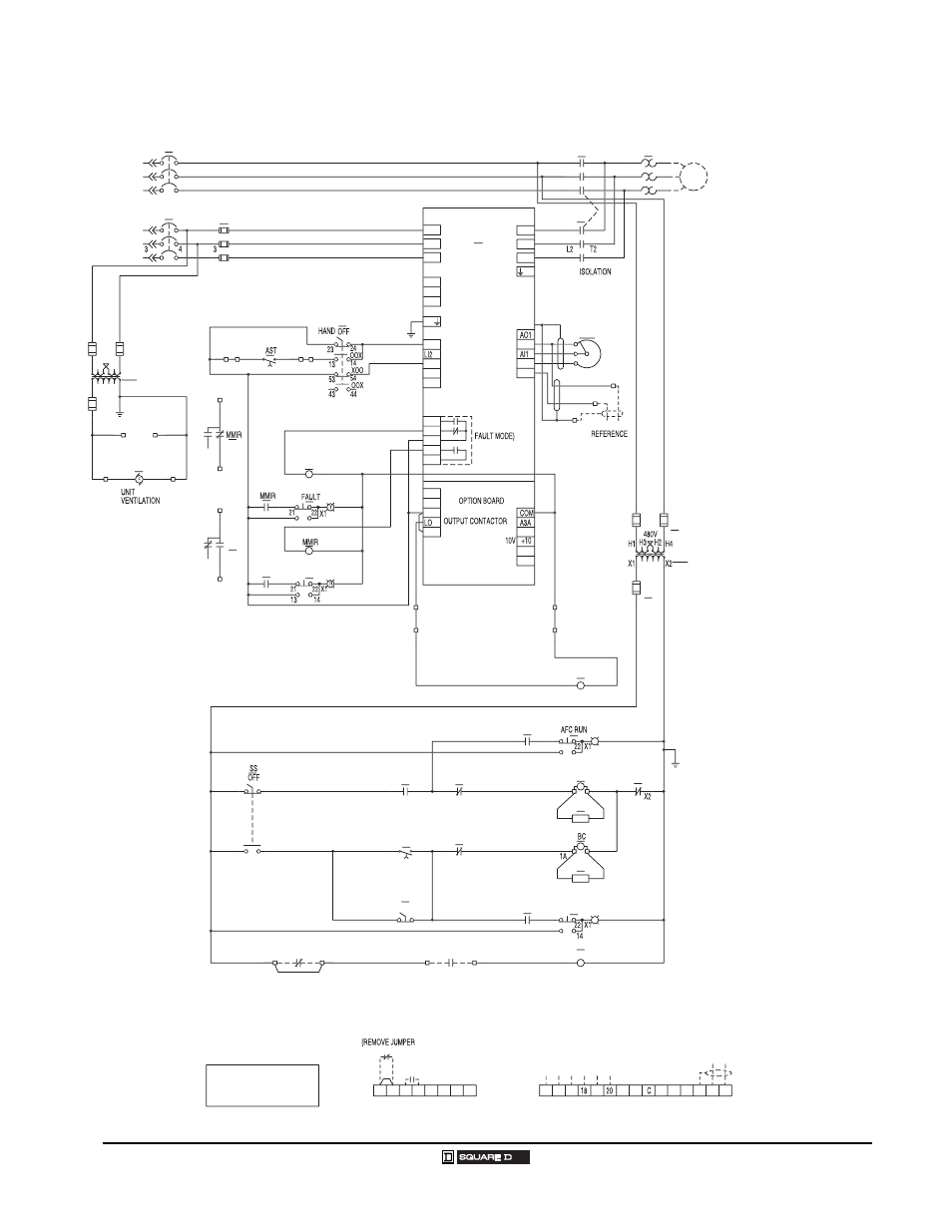 Class 8998 Motor Control Centers  Wiring Diagrams
