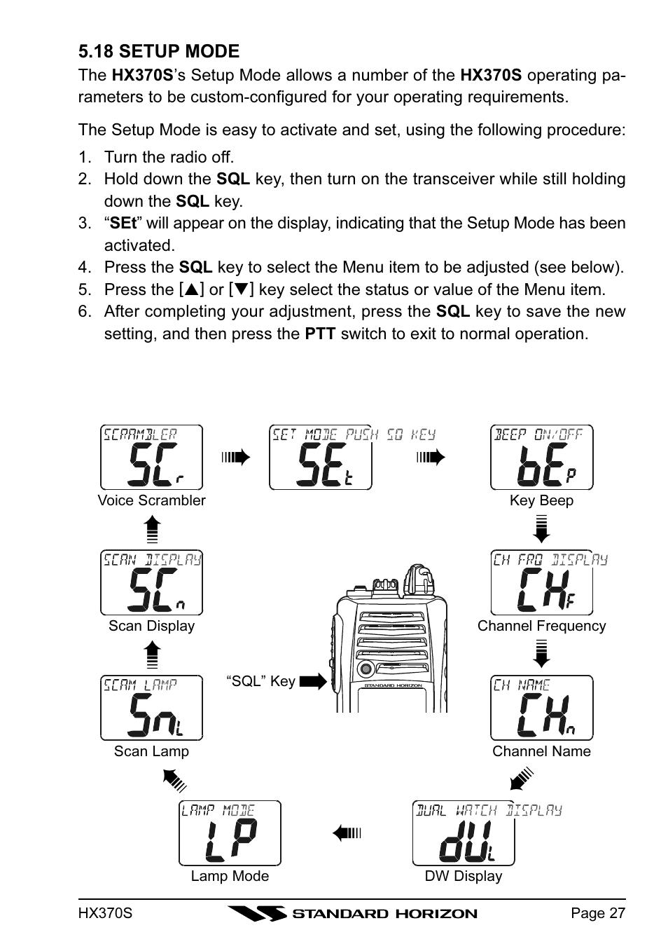 standard horizon hx370s user manual page 29 48 rh manualsdir com standard horizon hx370e manual Standard Horizon HX370S Radio