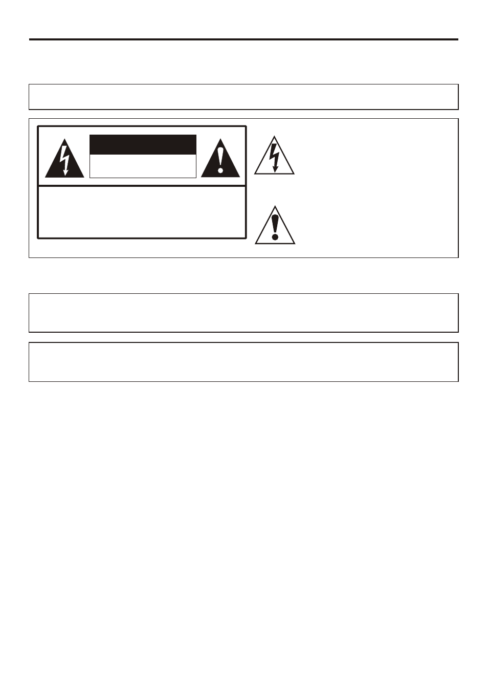 Important information, Fcc statement, Caution   Sanyo AVL