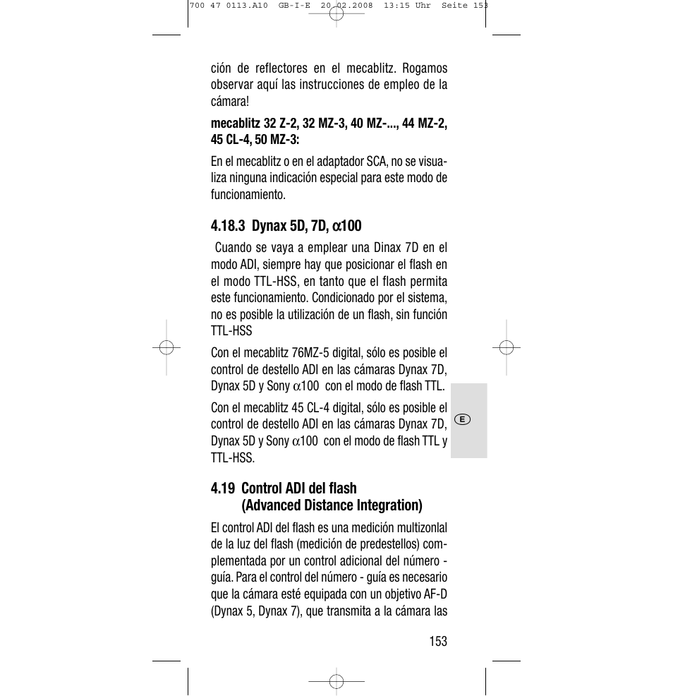 sony metz sca 3302 m7 user manual page 153 160