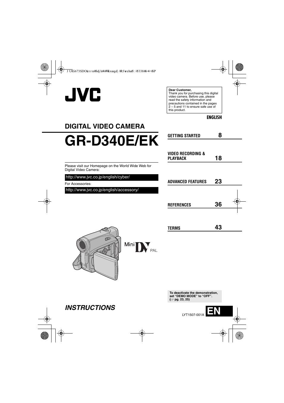 jvc gr d340ek user manual 44 pages rh manualsdir com