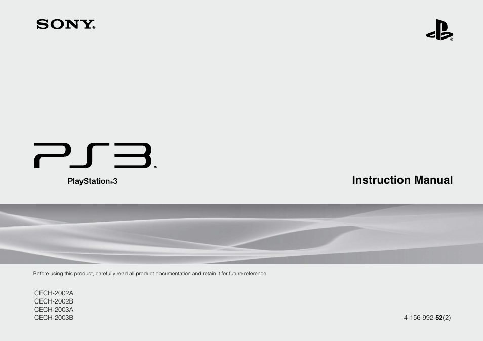 sony playstation 3 cech 2003b user manual 60 pages also for rh manualsdir com sony playstation 3 manuale d'uso sony playstation 4 manual download