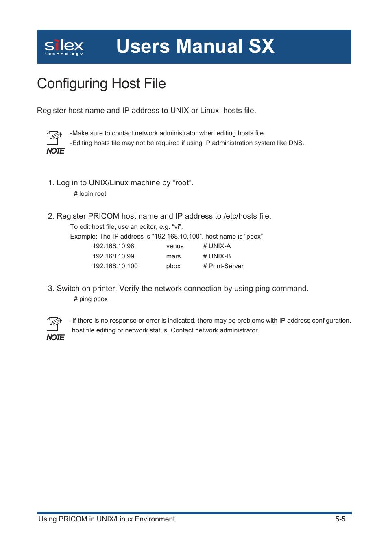 linux command edit host file