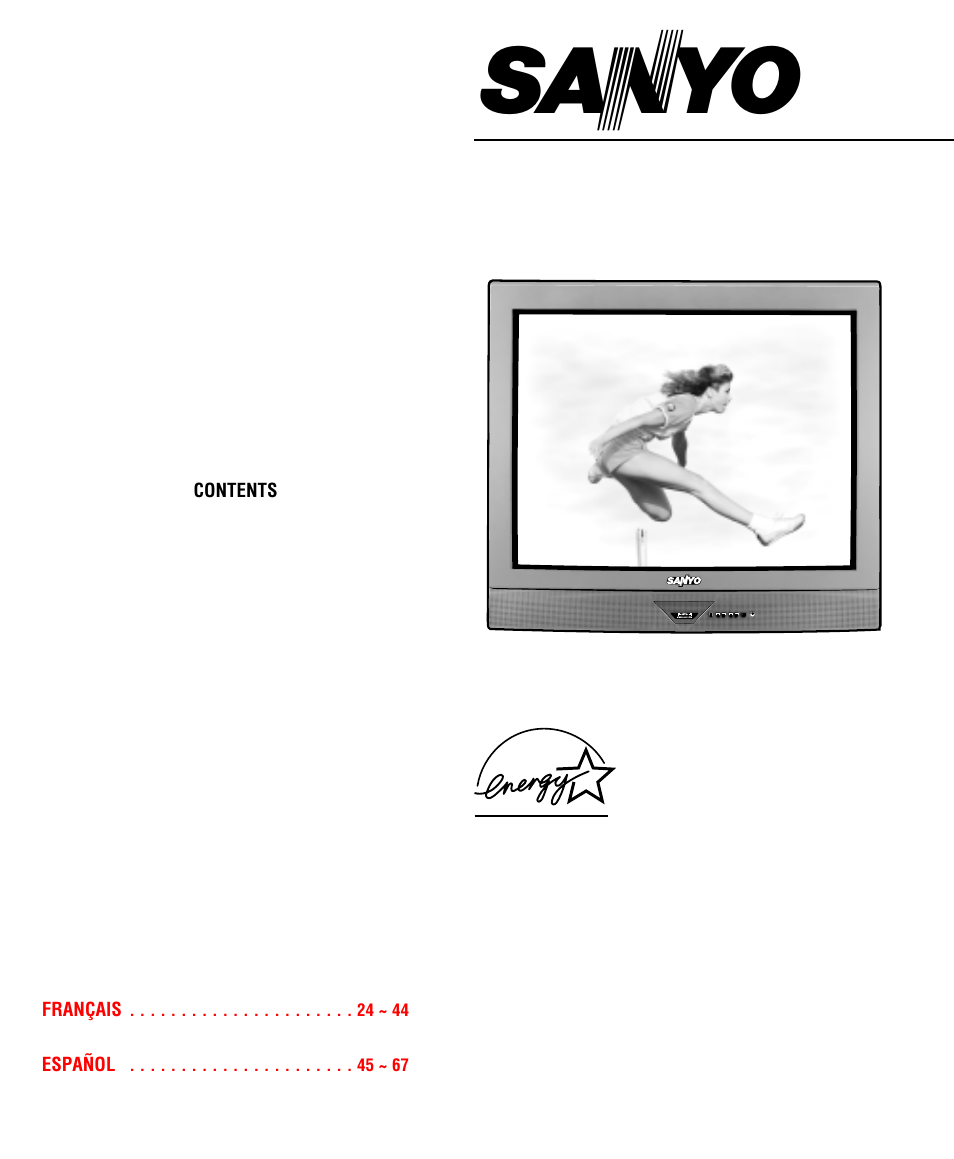 Sanyo DS35520 User Manual | 68 pages