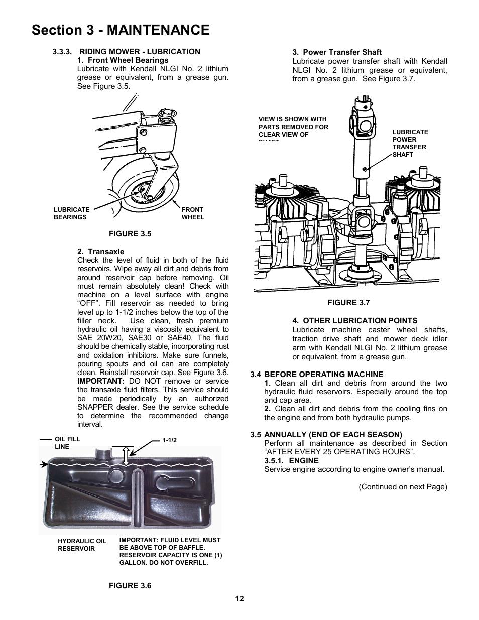 Snapper ZM5200M EN User Manual | Page 12 / 32 | Also for: ZM2501KH