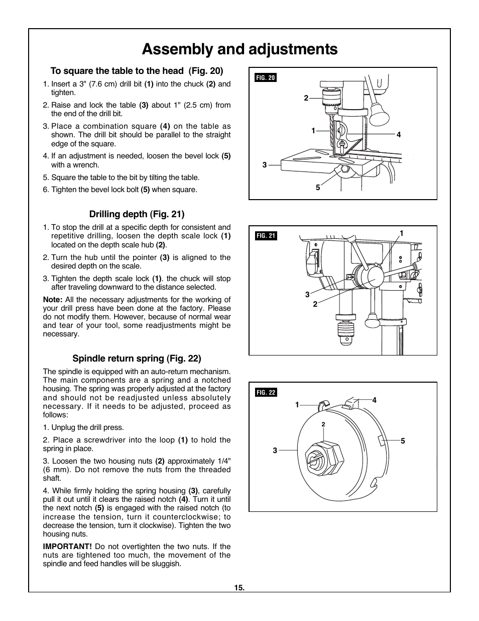 assembly and adjustments skil 3320 01 user manual page 15 60 rh manualsdir com