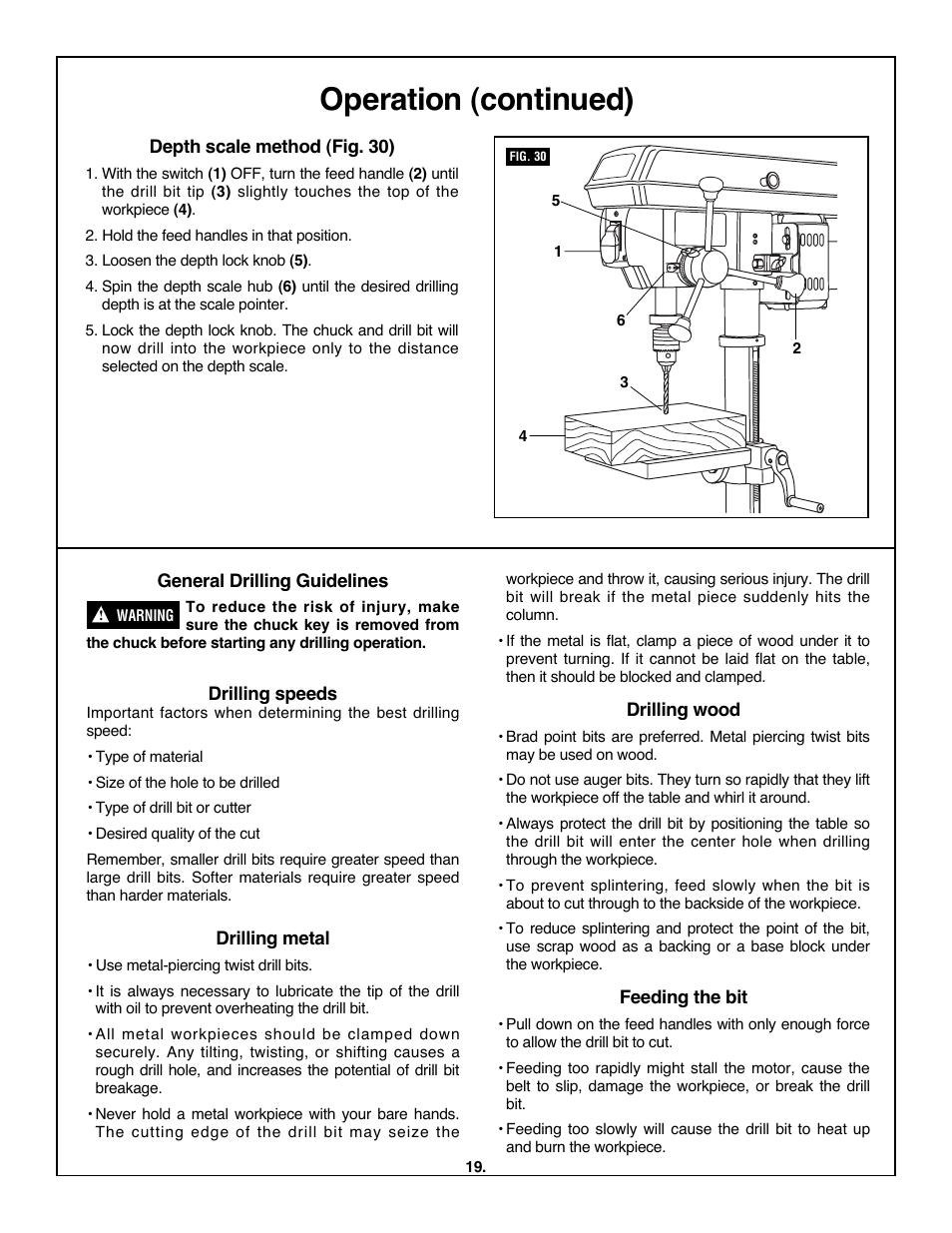operation continued skil 3320 01 user manual page 19 60 rh manualsdir com
