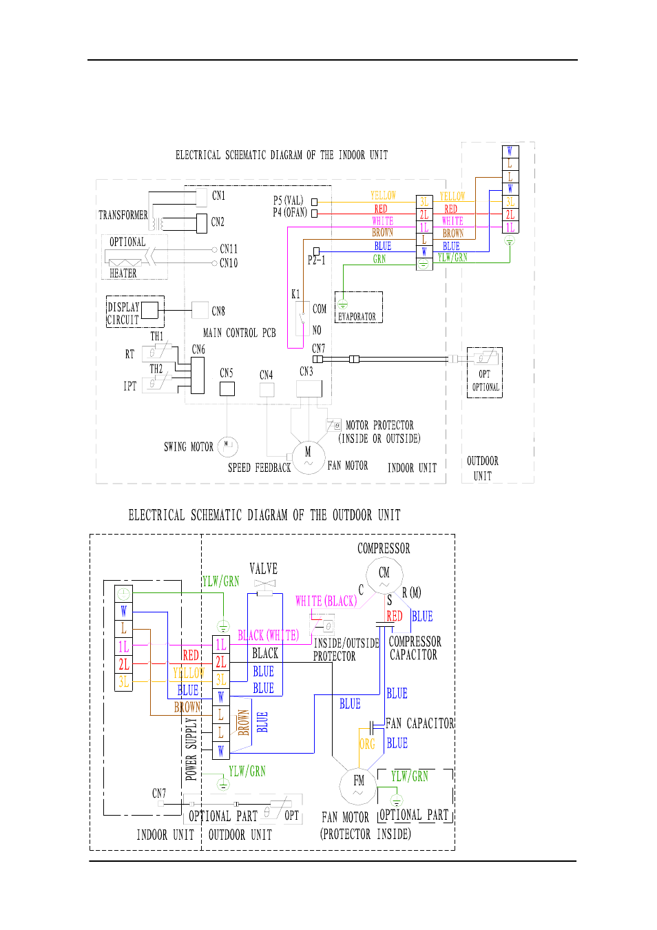 Electrical schematic    diagram      Soleus    Air    KFTHP24 User Manual   Page 13  27