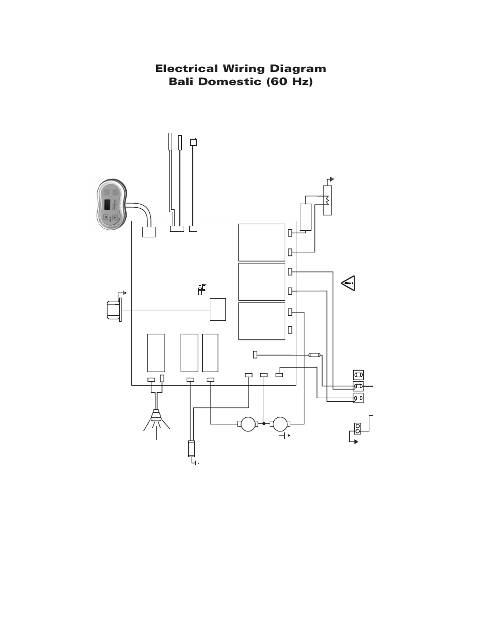 Electrical Wiring Diagrams Bali Domestic 60 Hz Diagram 120 Volt 4 Schematics Wire Sundance Spas Maxxus User Manual Page 31 37