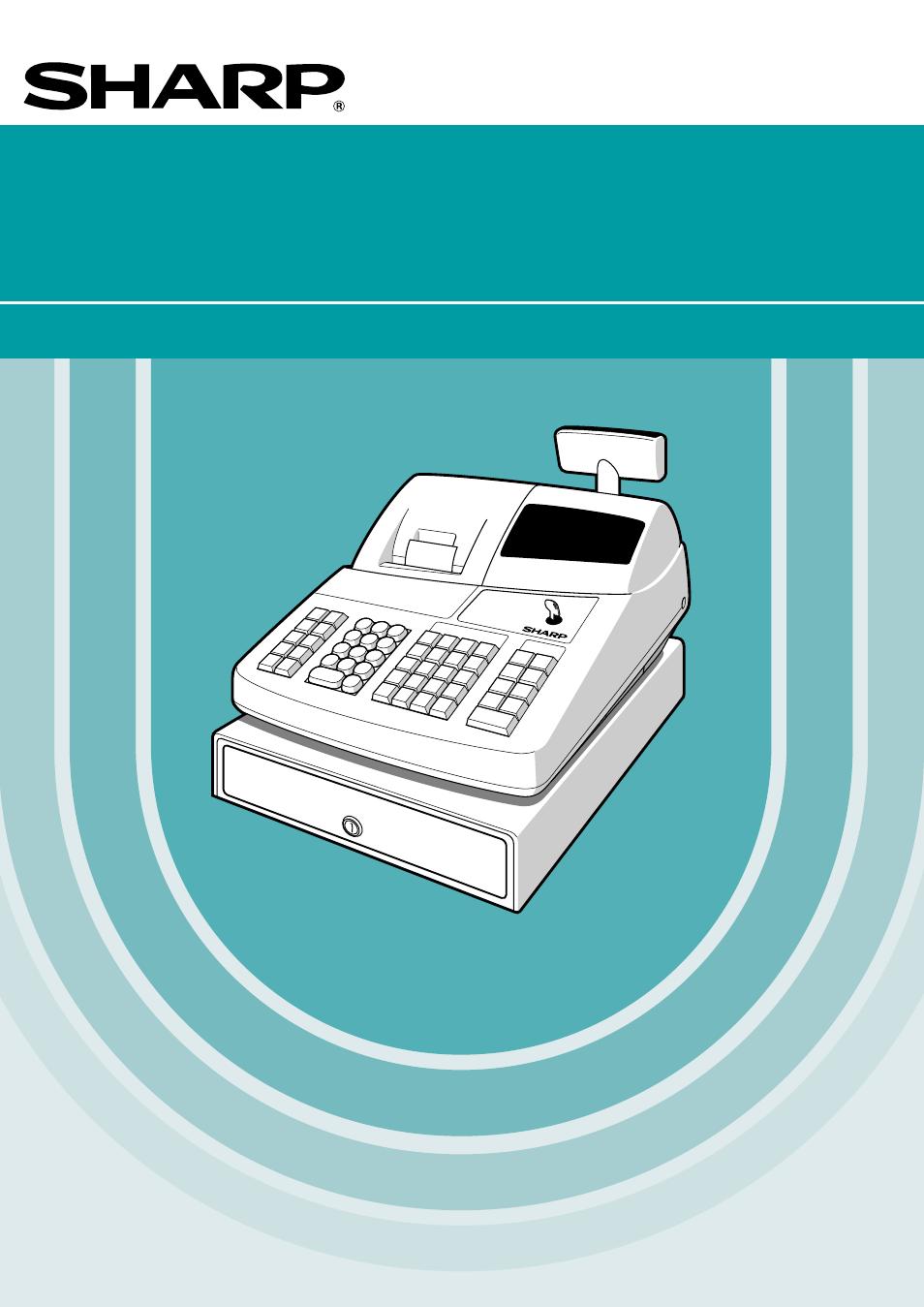 sharp electronic cash register xe a201 user manual 105 pages rh manualsdir com Sharp Electronic Cash Register Help Programming Sharp Cash Register