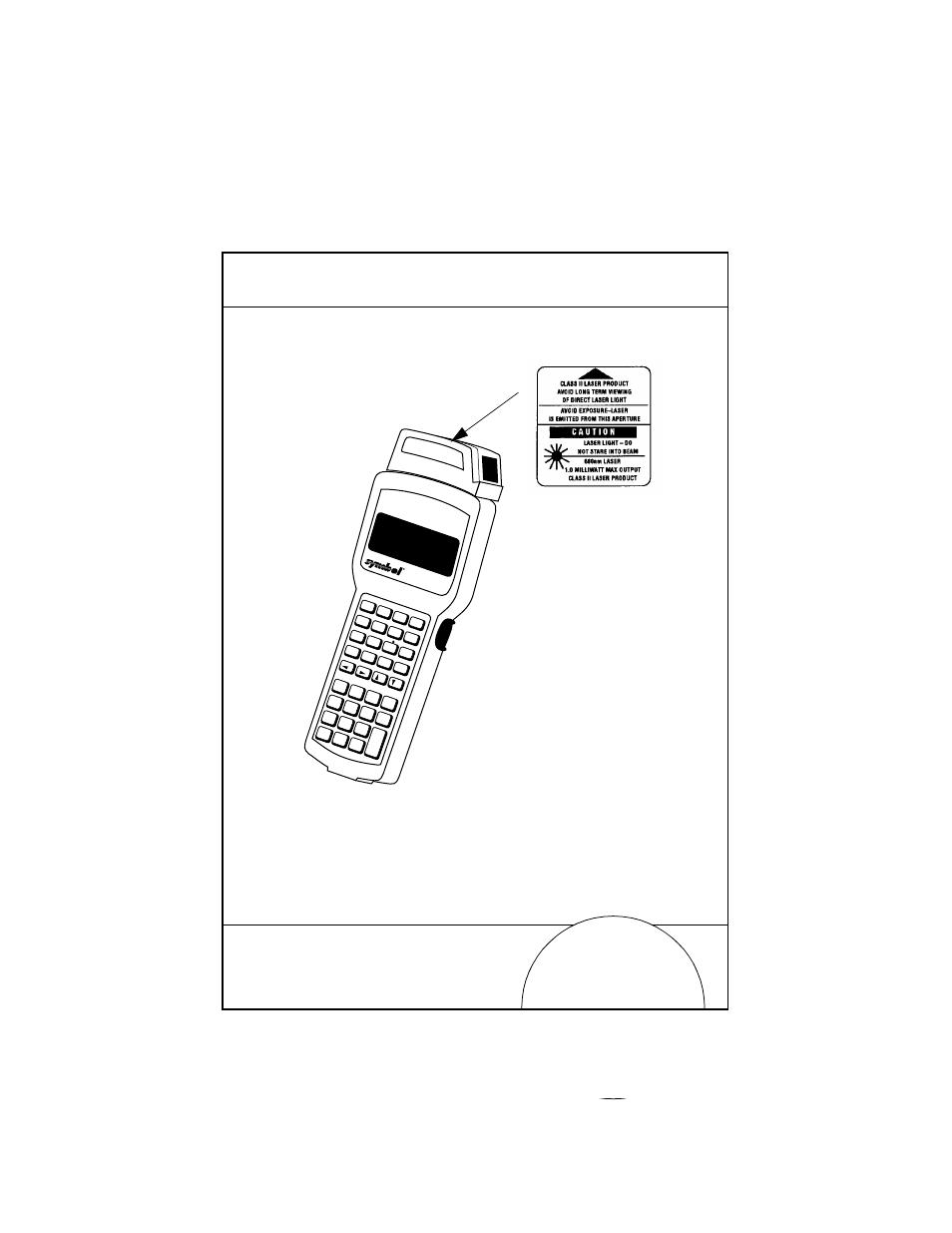 Scanner Labeling Symbol Technologies 3100 Series User Manual