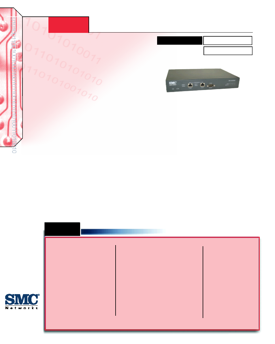SMC Networks SMC TigerAccess SMC-VIP04 User Manual | 3 pages