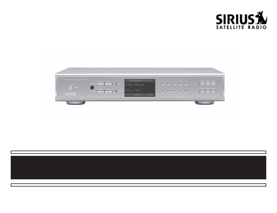 sirius satellite radio sr h550 user manual 40 pages rh manualsdir com sirius satellite radio user manual sirius satellite radio user manual