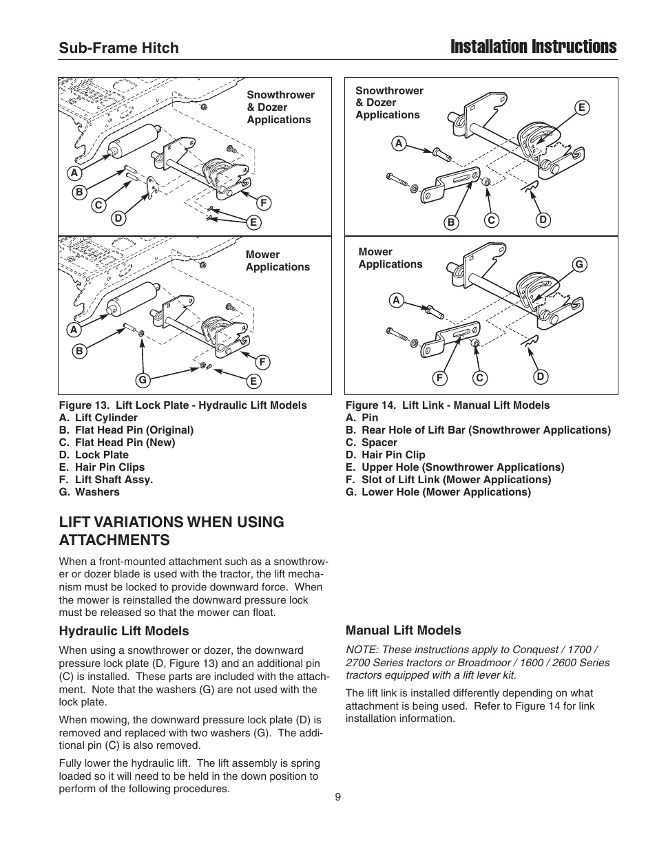Coleman Upper Lift Issues Manual Guide