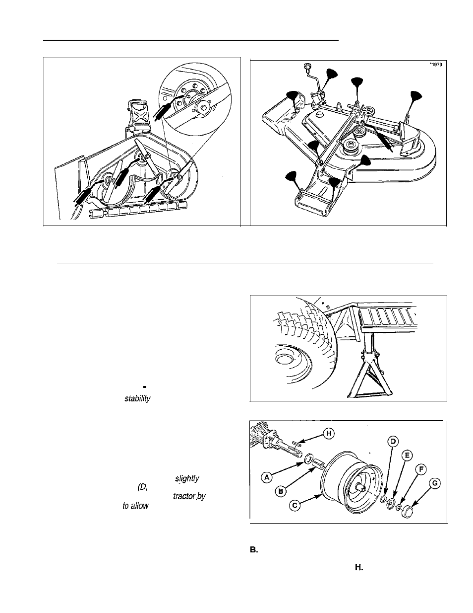 Regular Maintenance  Lubricate Rear Axles