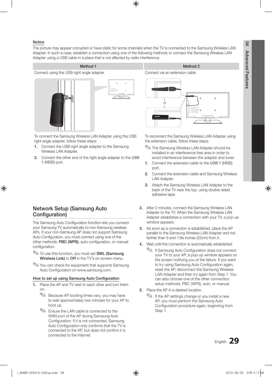 network setup samsung auto configuration samsung bn68 02541a 04 rh manualsdir com Car GPS Receiver Product Manuals Product Radar Detector Manuals
