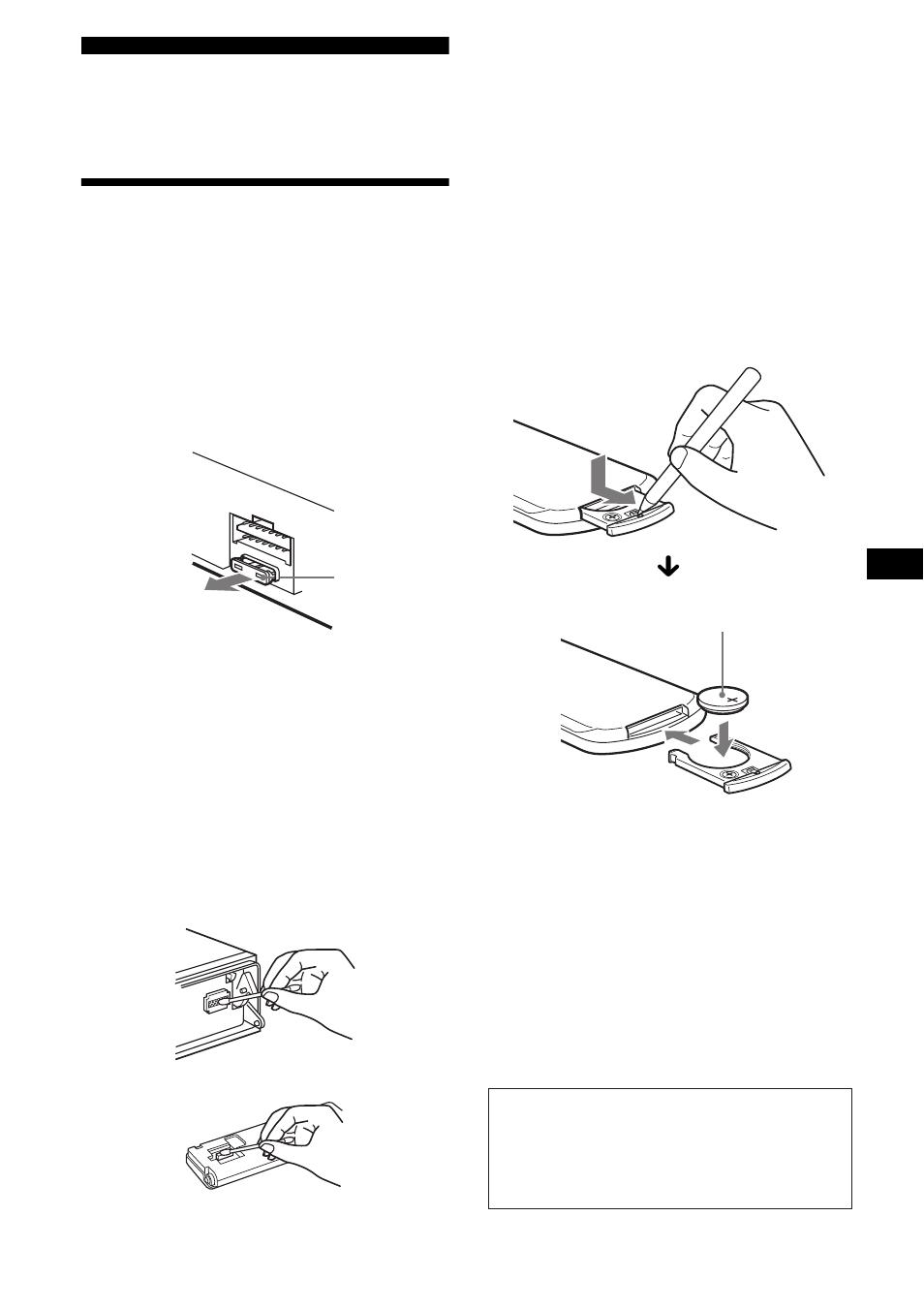 Información complementaria, Mantenimiento | Sony CDX-FW700 User Manual |  Page 53 / 60