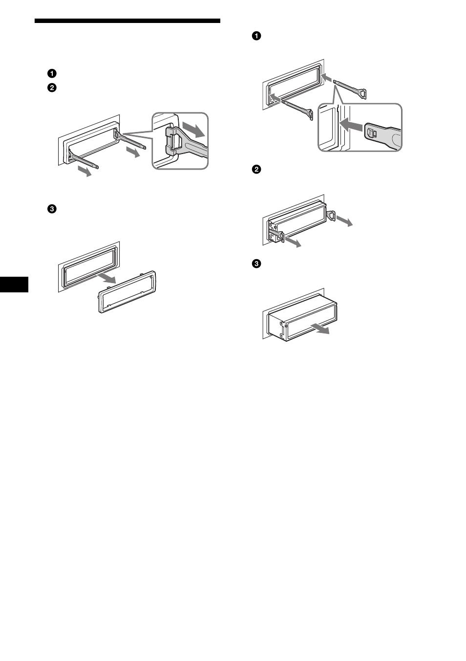 Extraccin De La Unidad 26 Sony Cdx Fw700 Wiring Diagram User