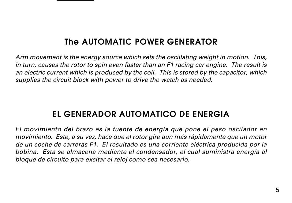 the automatic power generator el generador automatico de energia rh manualsdir com seiko 5 automatic watch user manual seiko 5 owners manual