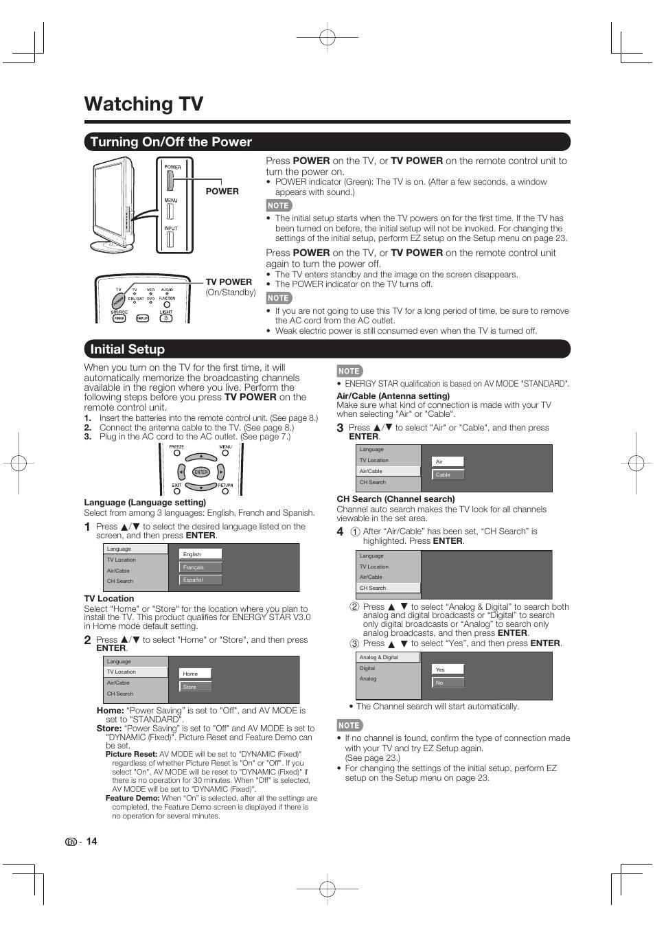 watching tv turning on off the power initial setup sharp aquos rh manualsdir com sharp aquos 60 smart tv owners manual sharp aquos tv user manual pdf