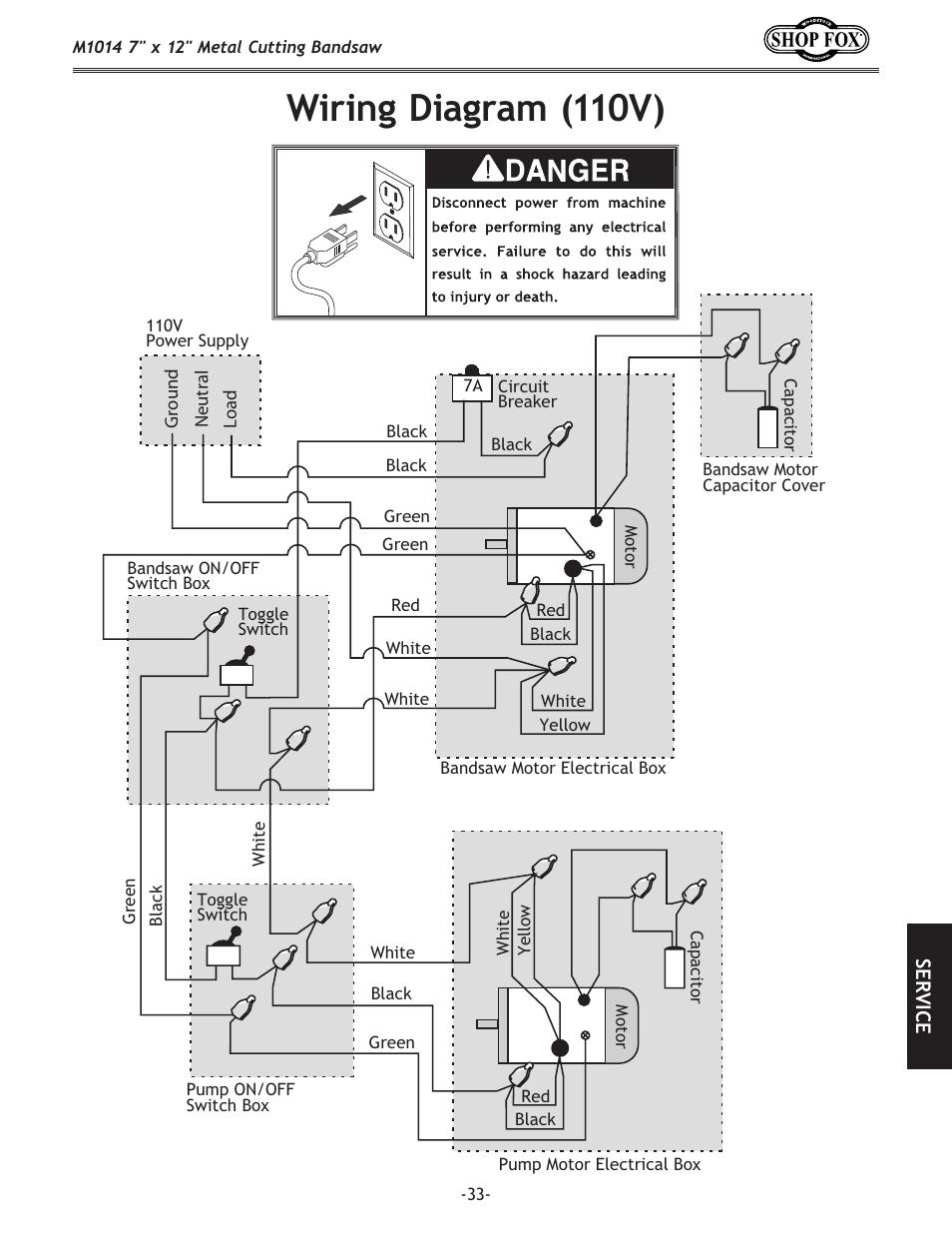 Wiring Diagram  110v