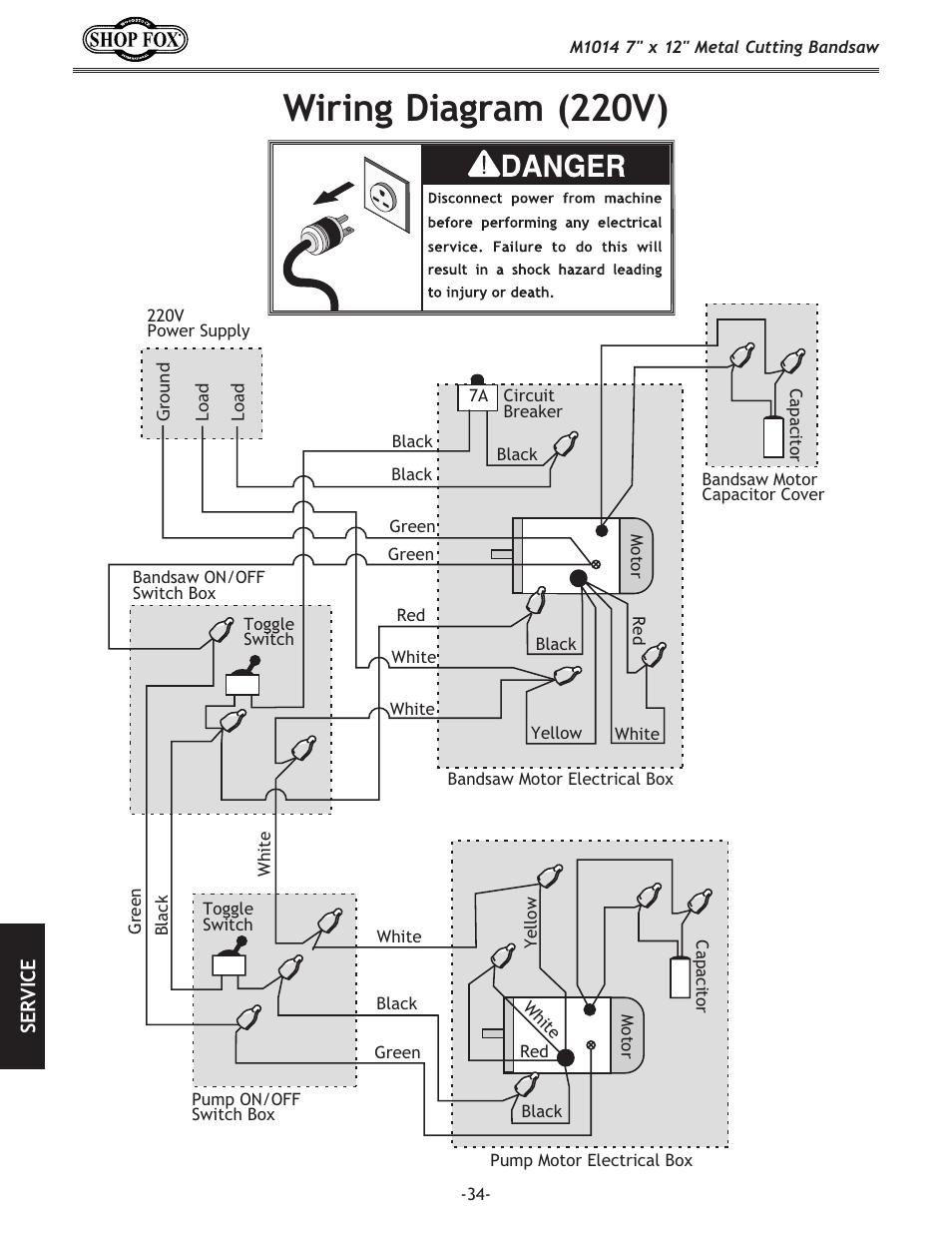 Wiring Diagram  220v