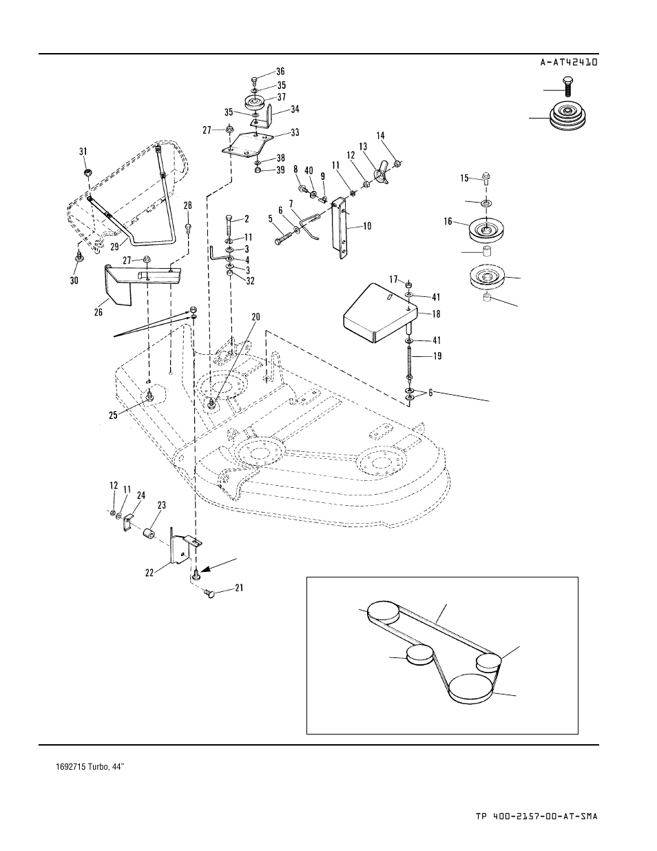 Belt routing | Simplicity TURBO COLLECTORS 1693227 User