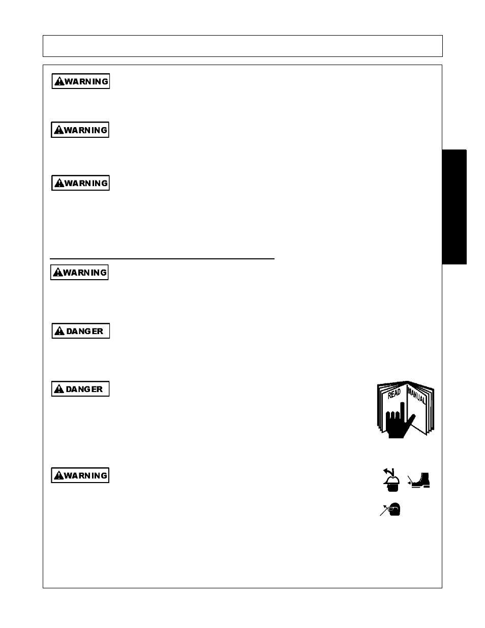 Operator safety instructions and practices, Operator safety instructions  and practices -3, Safety | Servis-Rhino SE10-4A User Manual | Page 9 / 168