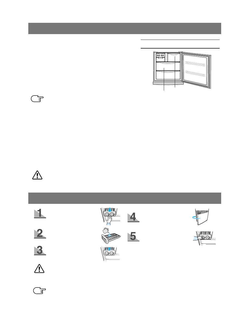 Whirlpool french door refrigerator troubleshooting & user guide.