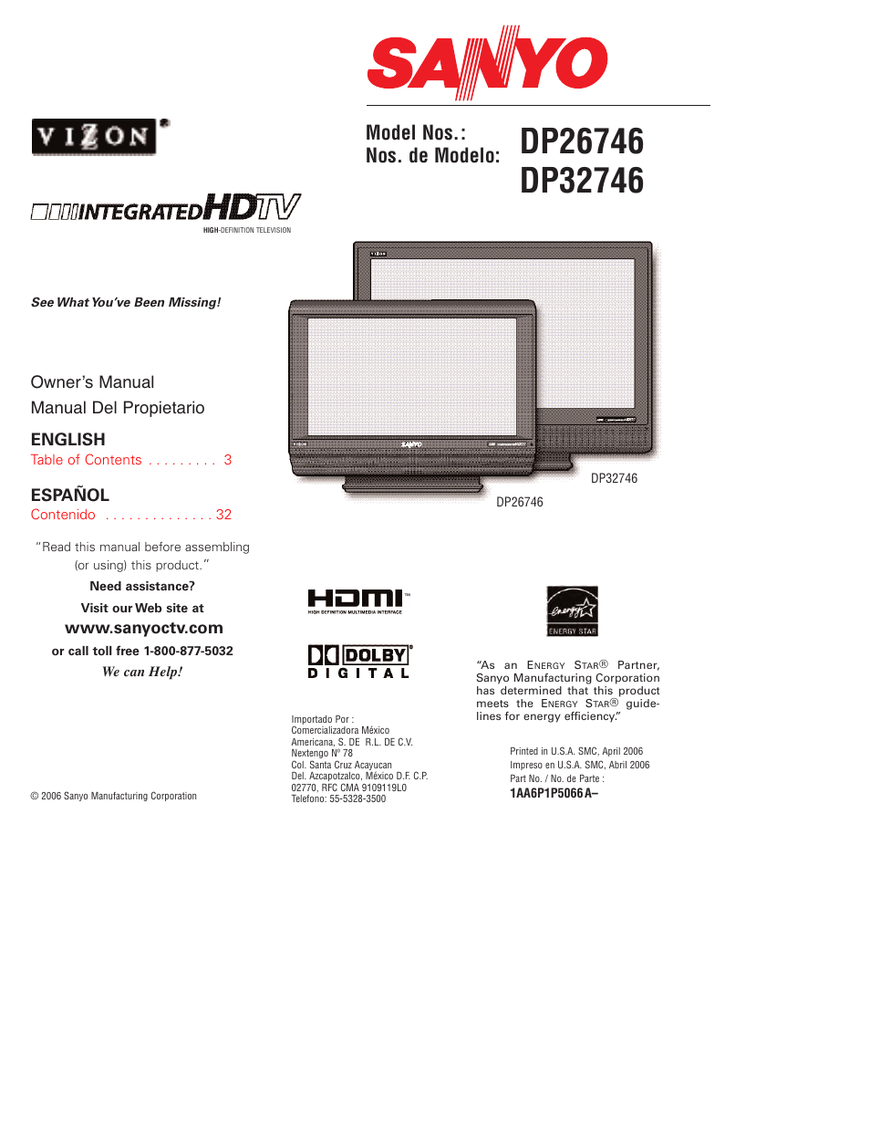 sanyo tv dp32746 manual product user guide instruction u2022 rh testdpc co