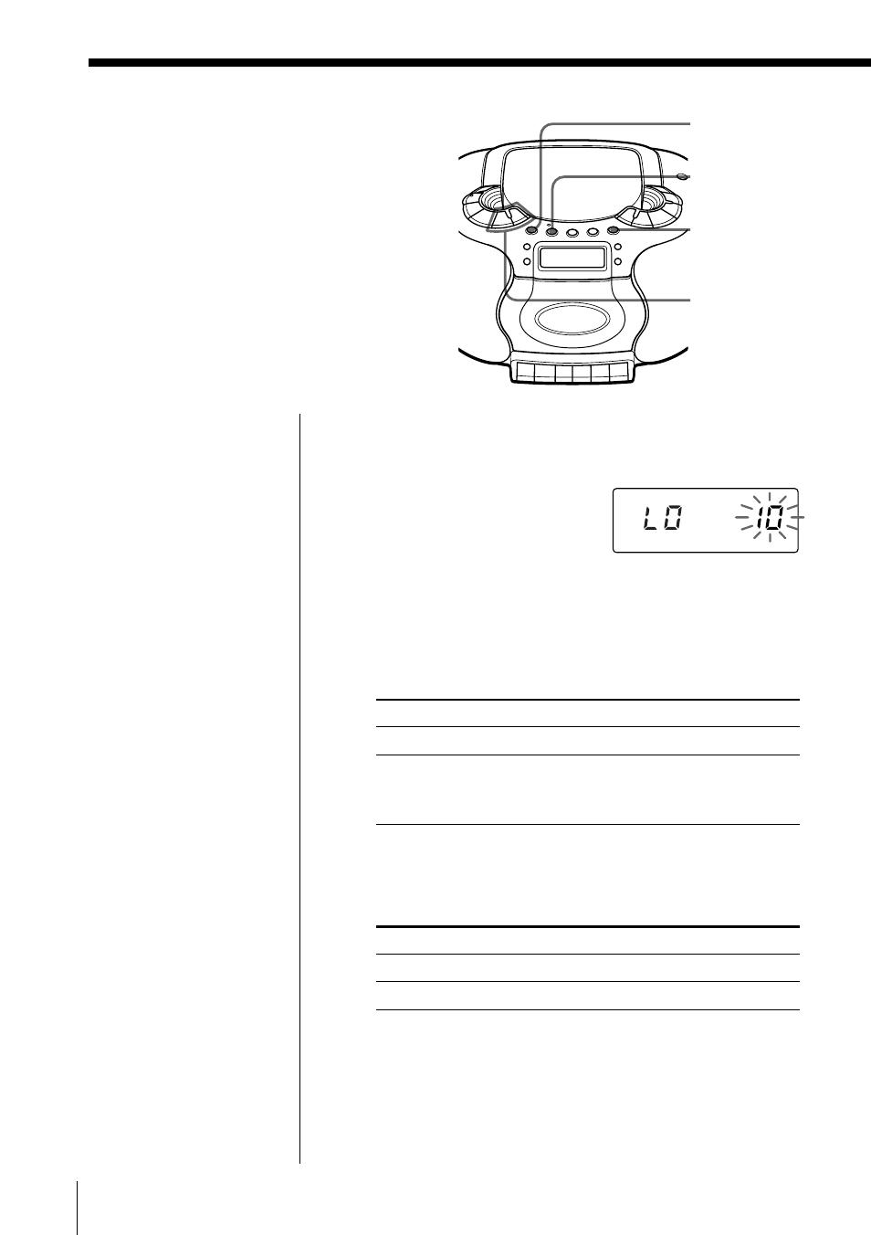 ... Array - uso del temporizador de cuenta atr s sony cfd e55l user manual  rh manualsdir
