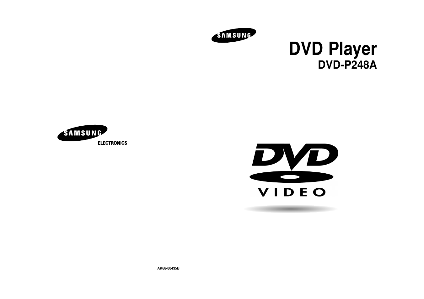 Samsung DVD-P248A User Manual | 16 pages