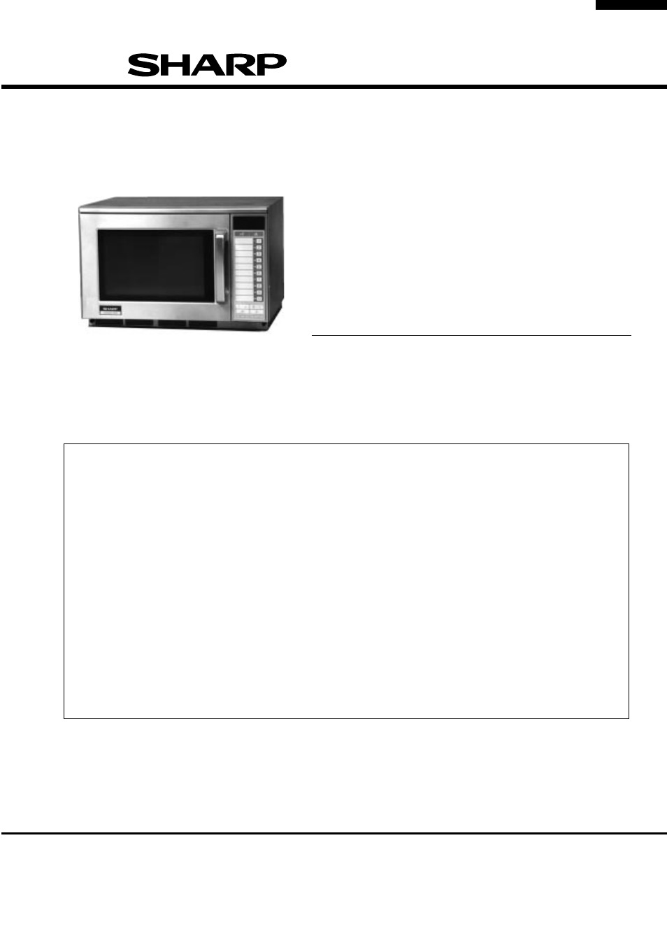 Sharp R 2397 User Manual 44 Pages Wiring Diagram Microwave Oven