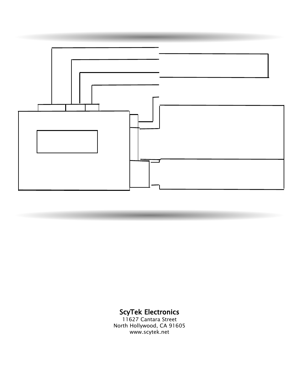 Wiring Diagram Technical Information Control Unit A10 Scytek Door In Contact Series Wire Electronics User Manual Page 20