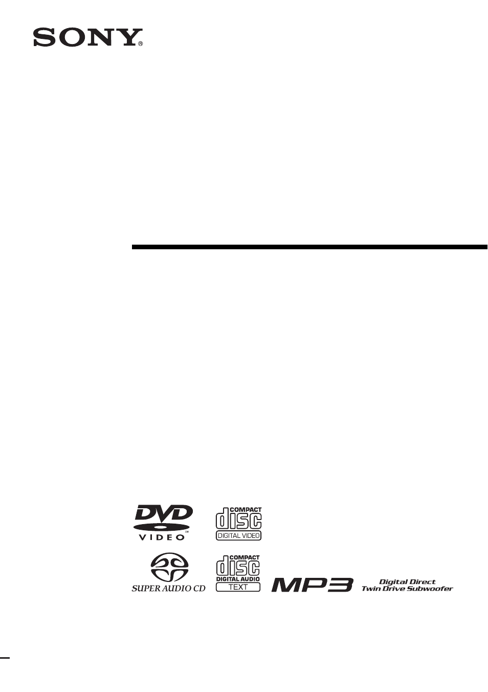 sony dav fr1 user manual 108 pages also for dav fr9 dav fr8 rh manualsdir com 1000 Watts Sony DAV H194 Sony BRAVIA Theater System