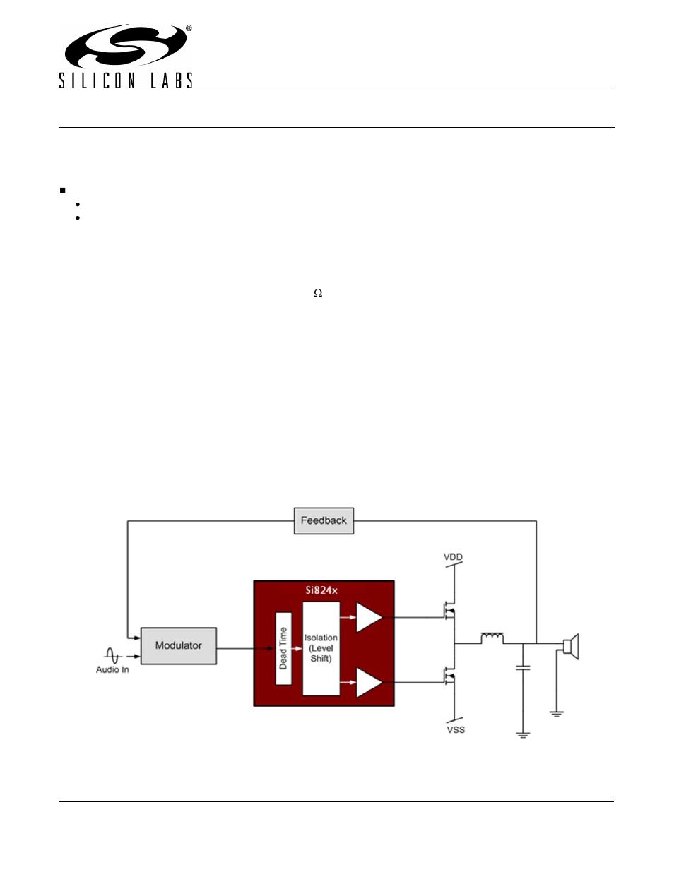 silicon laboratories si824xclassd kit si8410 user manual 16 pages rh manualsdir com Guitar Tube Amp Kit Amp Install Kit