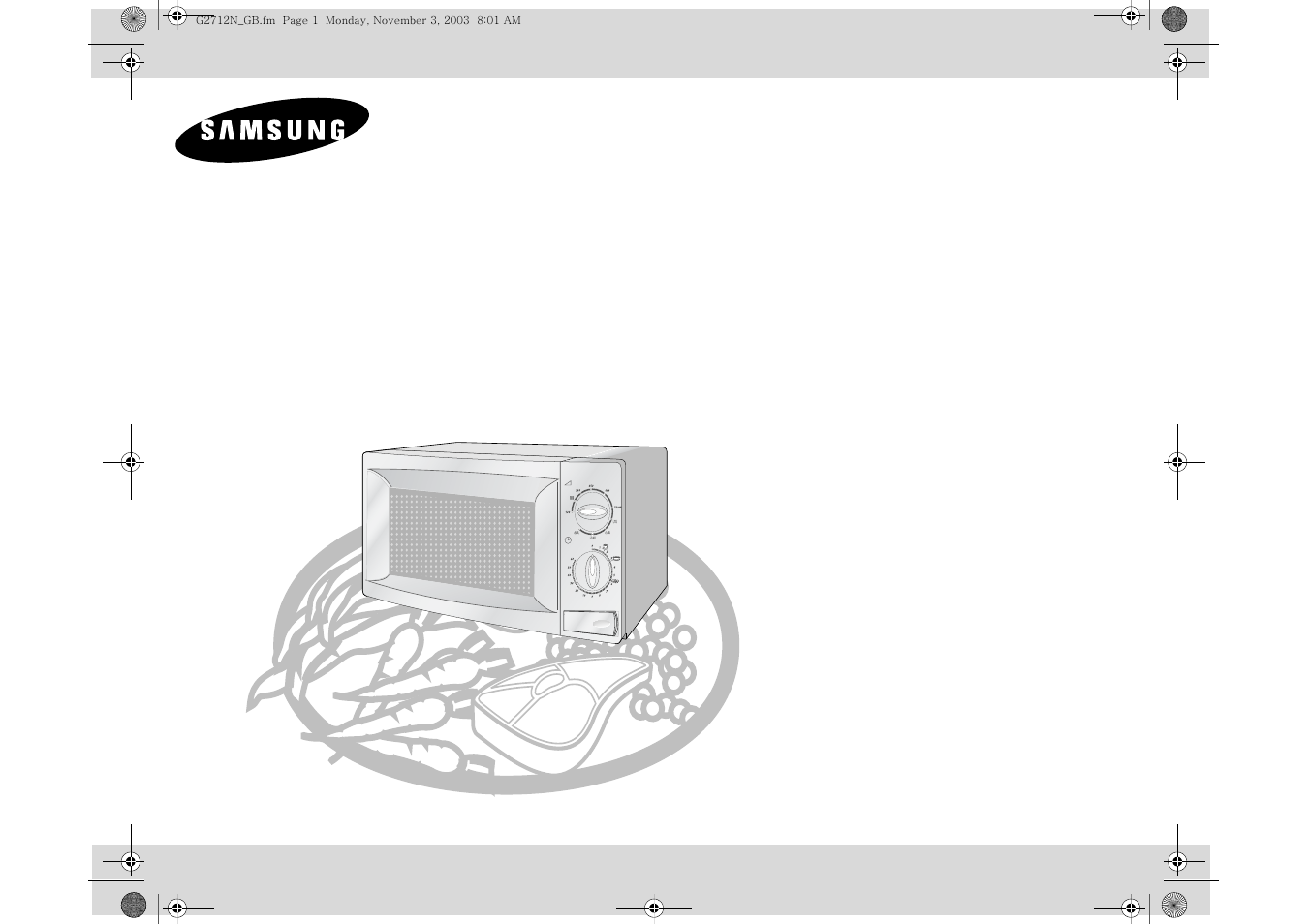 samsung g2712n user manual 16 pages rh manualsdir com samsung microwave guide samsung microwave guide cover
