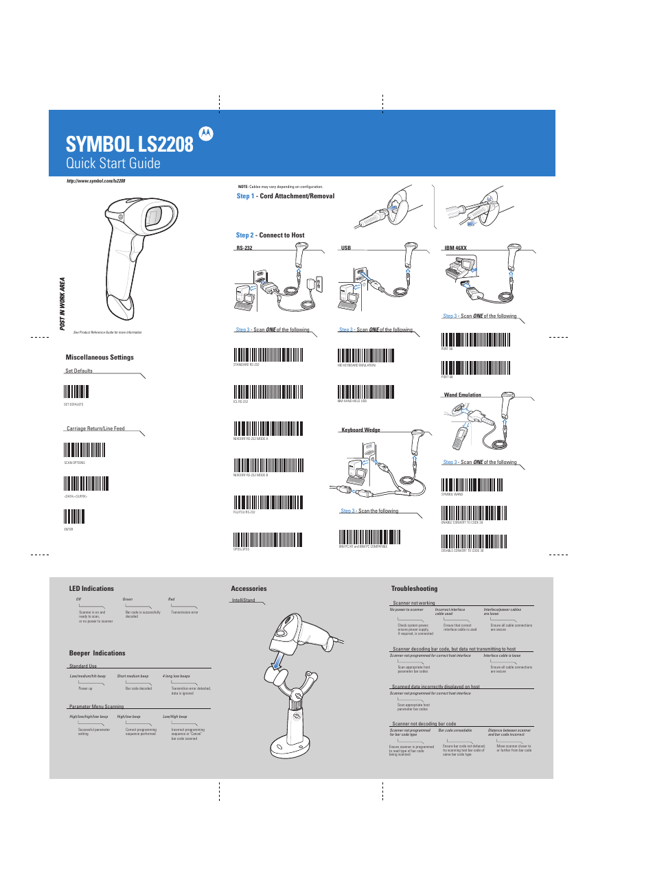 symbol ls2208 quick start guide open source user manual u2022 rh dramatic varieties com symbol ls2208 manual enter symbol ls2208 manuale italiano