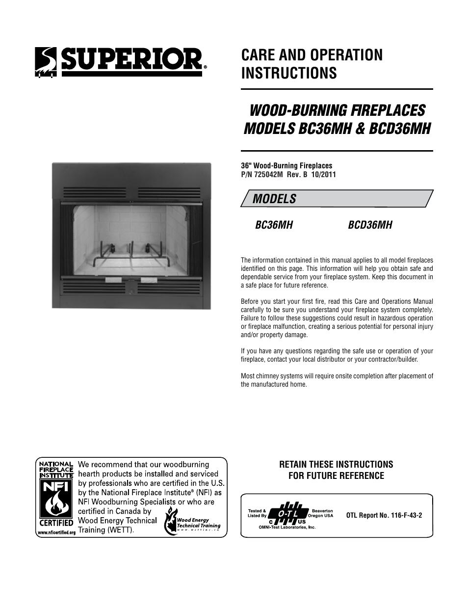 superior gas fireplace manual home design inspirations