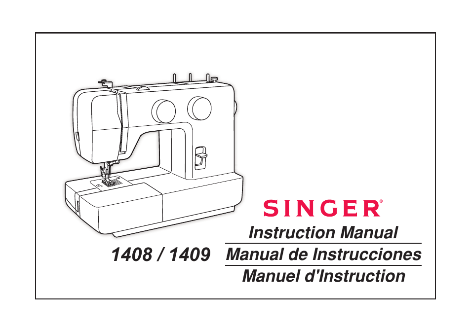 singer 1408 user manual 62 pages also for 1409 promise rh manualsdir com owners manual for singer sewing machine service manual for singer sewing machine