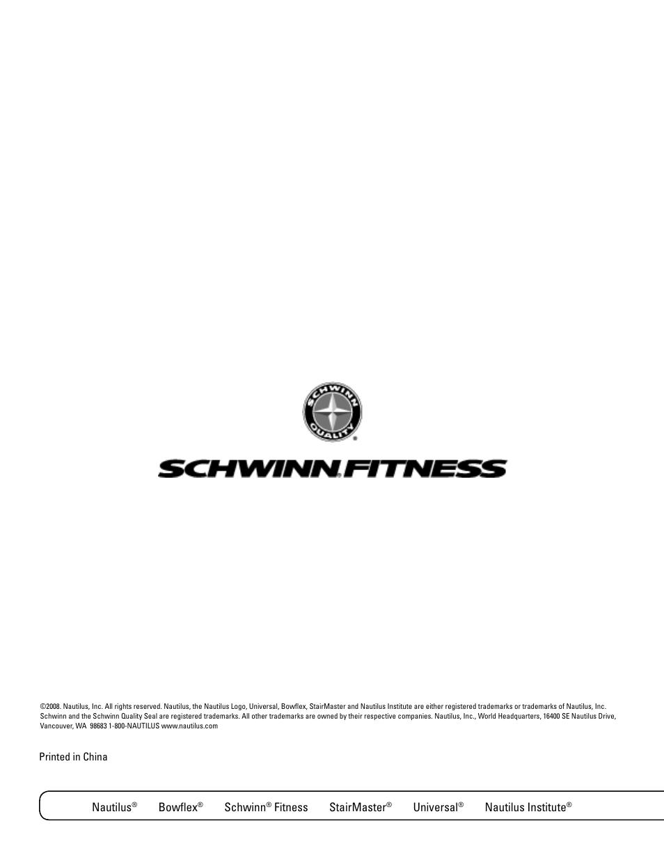 nautilus bowflex schwinn schwinn 420 user manual page 24 24 rh manualsdir com Schwinn 430 Assembly Manual Schwinn 430 Assembly Manual