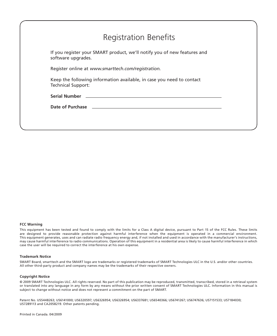 registration benefits smart technologies smart board 560 and 580 rh manualsdir com Sample Board of Directors Manual Sample Board of Directors Manual