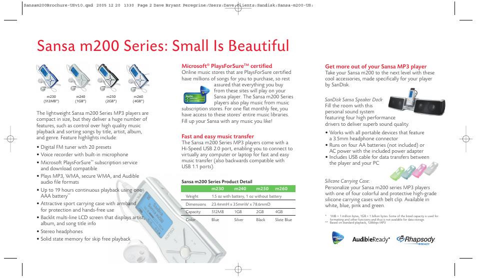 sansa m200 series small is beautiful sandisk sansa m240 user rh manualsdir com sandisk m240 user manual sandisk m240 user manual